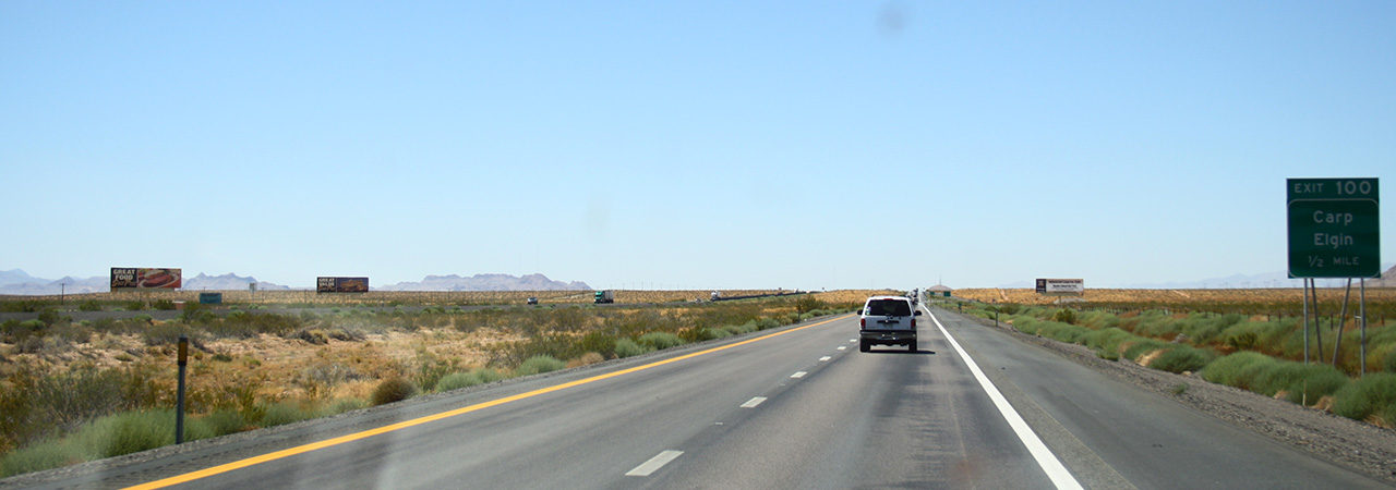 High way vers Las Vegas