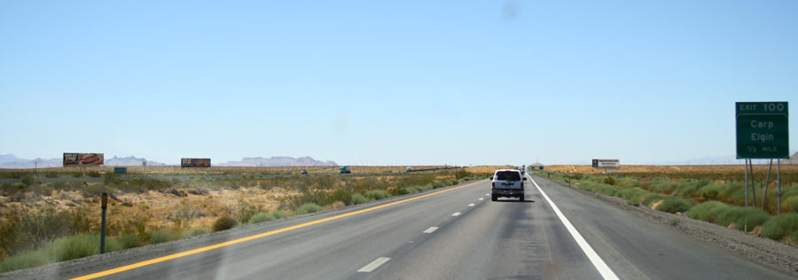 High way vers Las Vegas