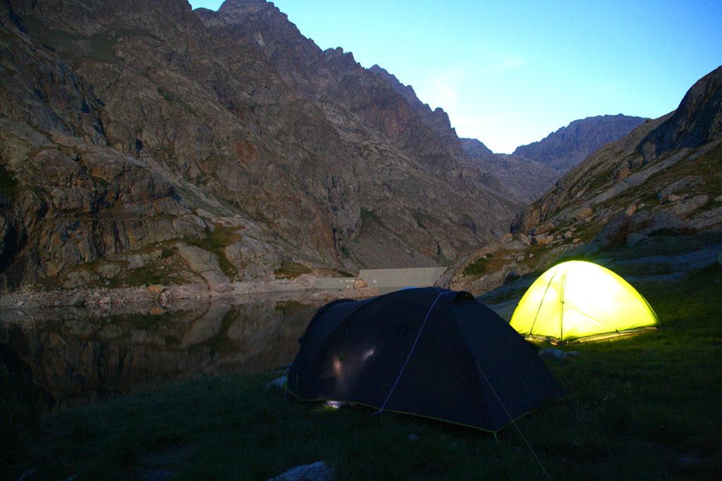 Lac du Basto - lieu de Bivouac Privilégié dans la vallée des Merveilles